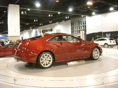 Cadillac CTS V-Coupe.