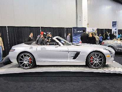 AMG SLS Roadster.