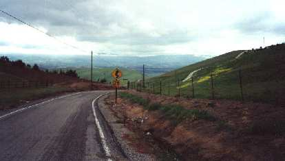 verdant hillsides, Morgan Territory, 2000 Devil Mountain Double Century