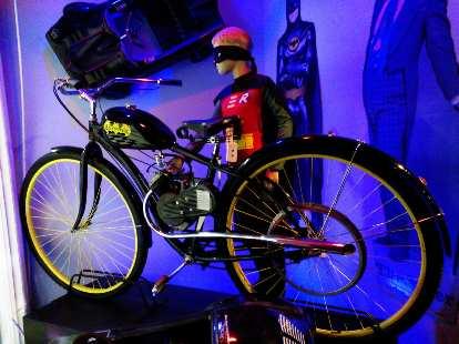 The Batwhiz bike.