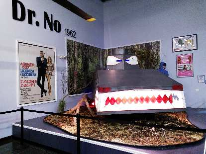 The Dragon Dragon tank from the first James Bond movie, Dr. No.