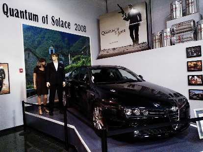 An Alfa Romeo as seen in Quantum of Solace (2008).