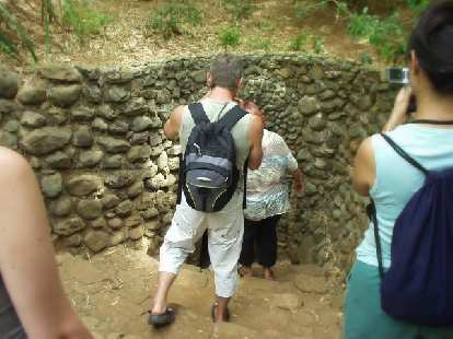 Entrance to the Vihn Moc tunnels.