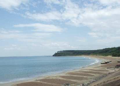 Beach outside Vihn Moc.