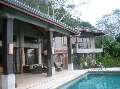 The villa.