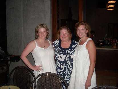 Charis, Karie, and Barbara looking very elegant.