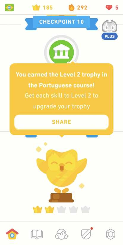 Thumbnail for I Finished the Portuguese Tree on Duolingo Again