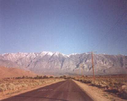 eastern Sierra mountains, Bishop