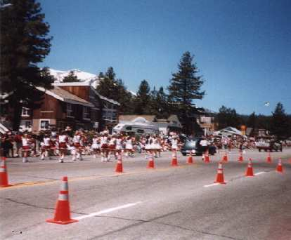 Fourth of July Parade, eastern Sierras, July 4, 1998