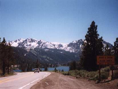 lake, eastern Sierras