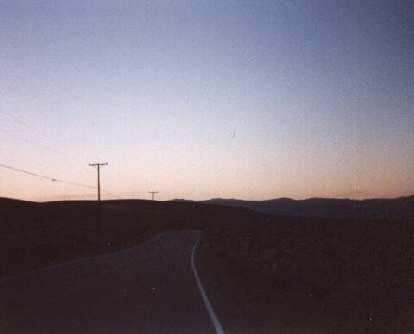 getting dark, 1998 Eastern Sierra Double Century