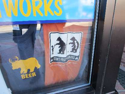More t-shirts about bears.