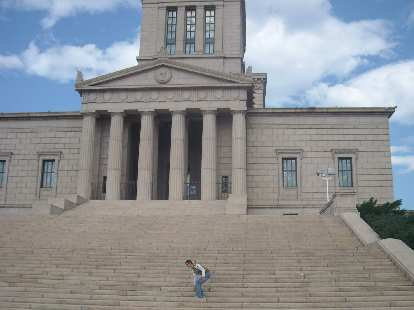 At the George Washington Masonic Memorial in Alexandria, Virginia.