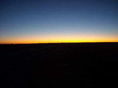 7:00 a.m. sunrise.