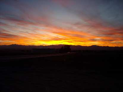 [Mile 184] Sunset over the Front Range.
