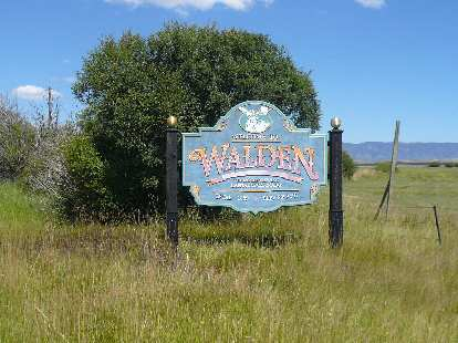 [Mile 99, 1:13 p.m.]  Made it to Walden!