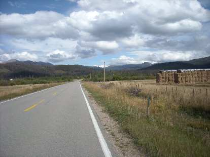 Heading back into the west end of the Poudre Canyon.