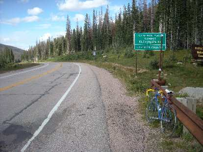 Back on top of Cameron Pass.