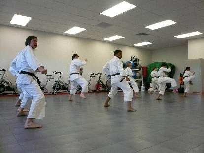 Karate demo.