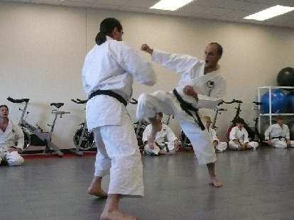 More karate.