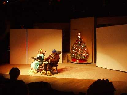 """The final show I went to was """"An Evening of Merry Madness"""" at the Bas Bleu Theatre.    That also was pretty funny..."""