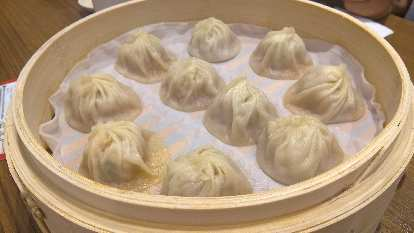 XiaoLongBao, a soup dumpling specialty of the worldwide Din Tai Fung restaurant chain, in Kaohsiung City.