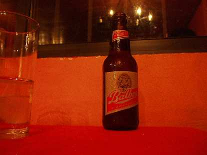 "I tried Cerveza Balboa one night.  ""Like Budweiser,"" I observed."