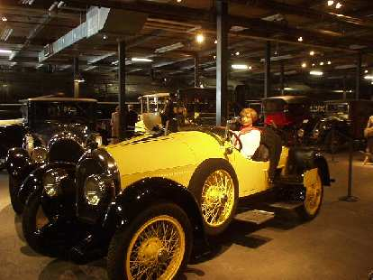 Amelia Earhart's Kissel.  She drove this from Boston to CA.