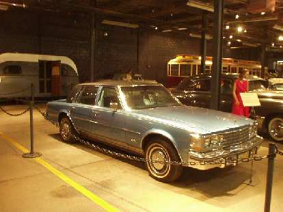 A Cadillac that Elvis bought and gave to a friend.  The King was well-known for such generosity, especially with Cadillacs.