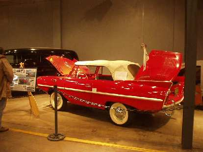 The Amphicar was a seacar (vehicle that could drive on land and on water) produced from 1961-1968.