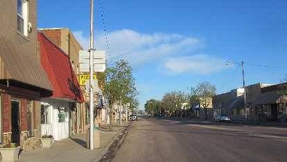 downtown Ault, CO