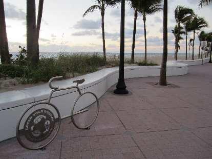 Nice bike rack.