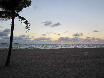 7:04 a.m. sunrise.