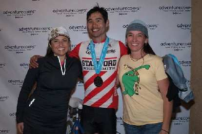 1st place Classic Bike, age group course record. One of the greatest races I have ever done, and best crew ever!