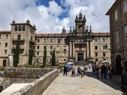 Monasterio de San Martín Pinario in Santiago de Compostela.