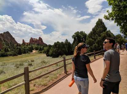 Carolyn and Jon at Garden of the Gods.