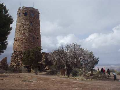 Watch tower at Desert View.