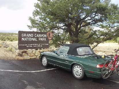 On the way to Ironman Arizona, I got to briefly stop by the Grand Canyon for the first time in my life.