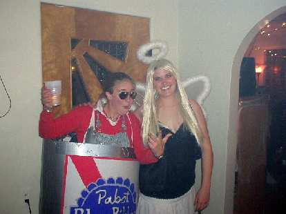 Megan and Katie in more great costumes.
