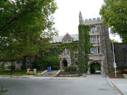 One of the original buildings at McMaster.
