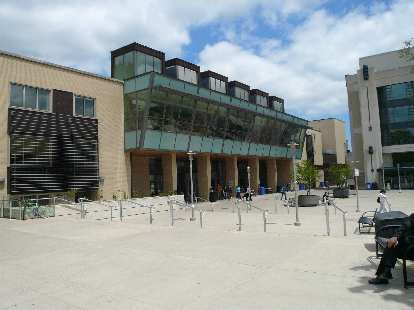 The new engineering building at McMaster.
