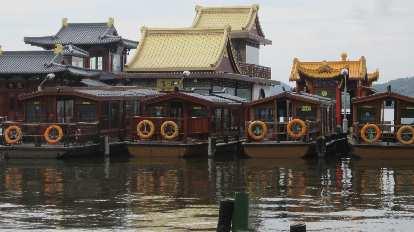 Houseboats on West Lake.