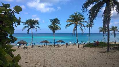 One of the Playas del Este, east of Havana.