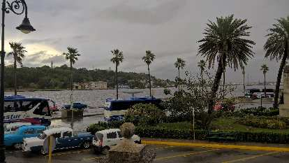 The Canal de Entrada, or Havana harbor.