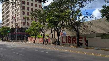 Viva Cuba Libre in the Vedado area of Havana.