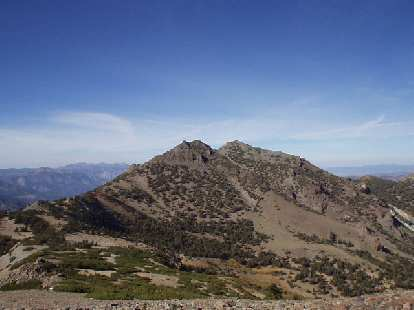 3:30 p.m.: Silver Peak (North and South), which we did not have time to bag.