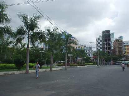 Backpacker Area of Ho Chi Minh City.
