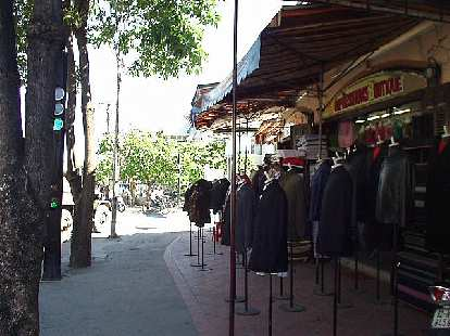 Clothing shops and custom tailors were everywhere in Hoi An.