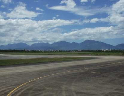 As I stepped off the plane in Da Nang, I was pleased to see mountains!