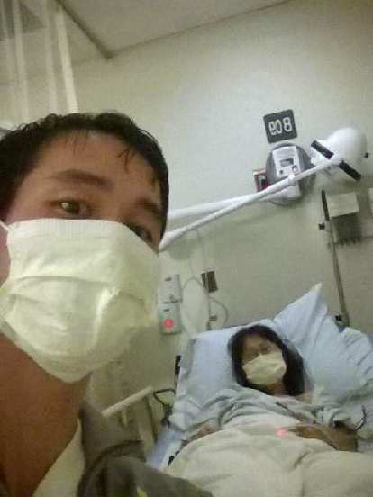 Felix Wong, emergency room